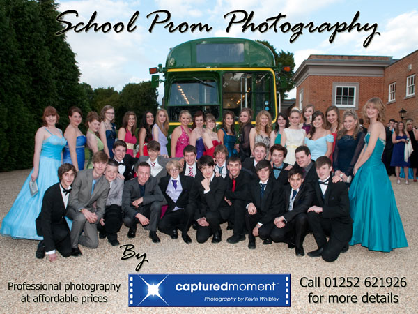 School Prom Photography by Captured Moment